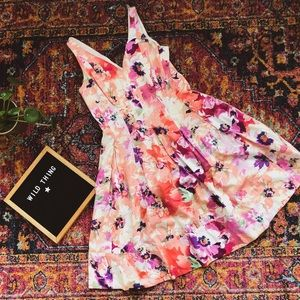 Party dress floral Ralph Lauren elegant classic